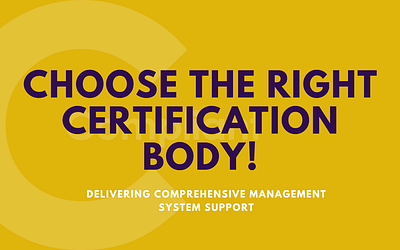 ISO certification: choose the right certification body